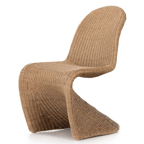 Portia Vintage Natural Outdoor Dining Chair