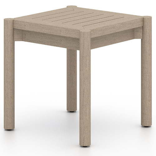 Nelson Washed Brown Outdoor End Table