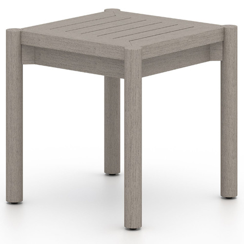Nelson Weathered Grey Outdoor End Table