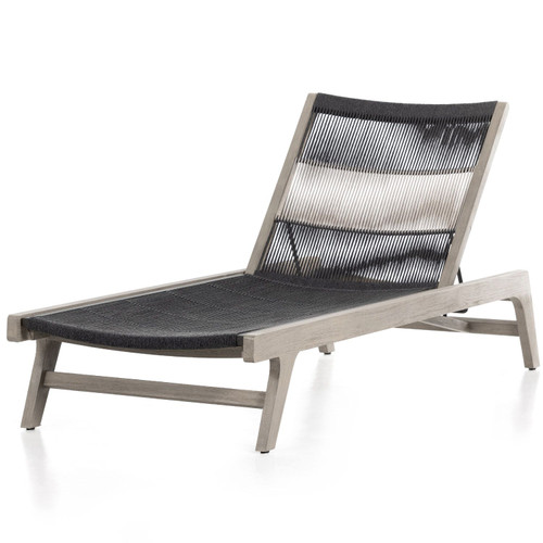 Julian Weathered Grey Outdoor Chaise
