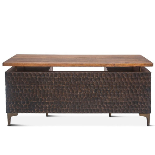 "Anna Modern Solid Wood Executive Desk 66"""