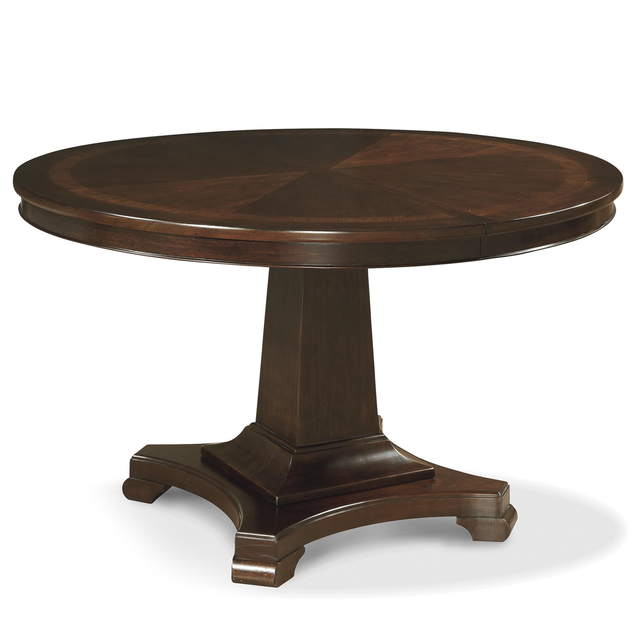 Proximity Cherry Wood Extending Round Dining Table 54 Zin Home