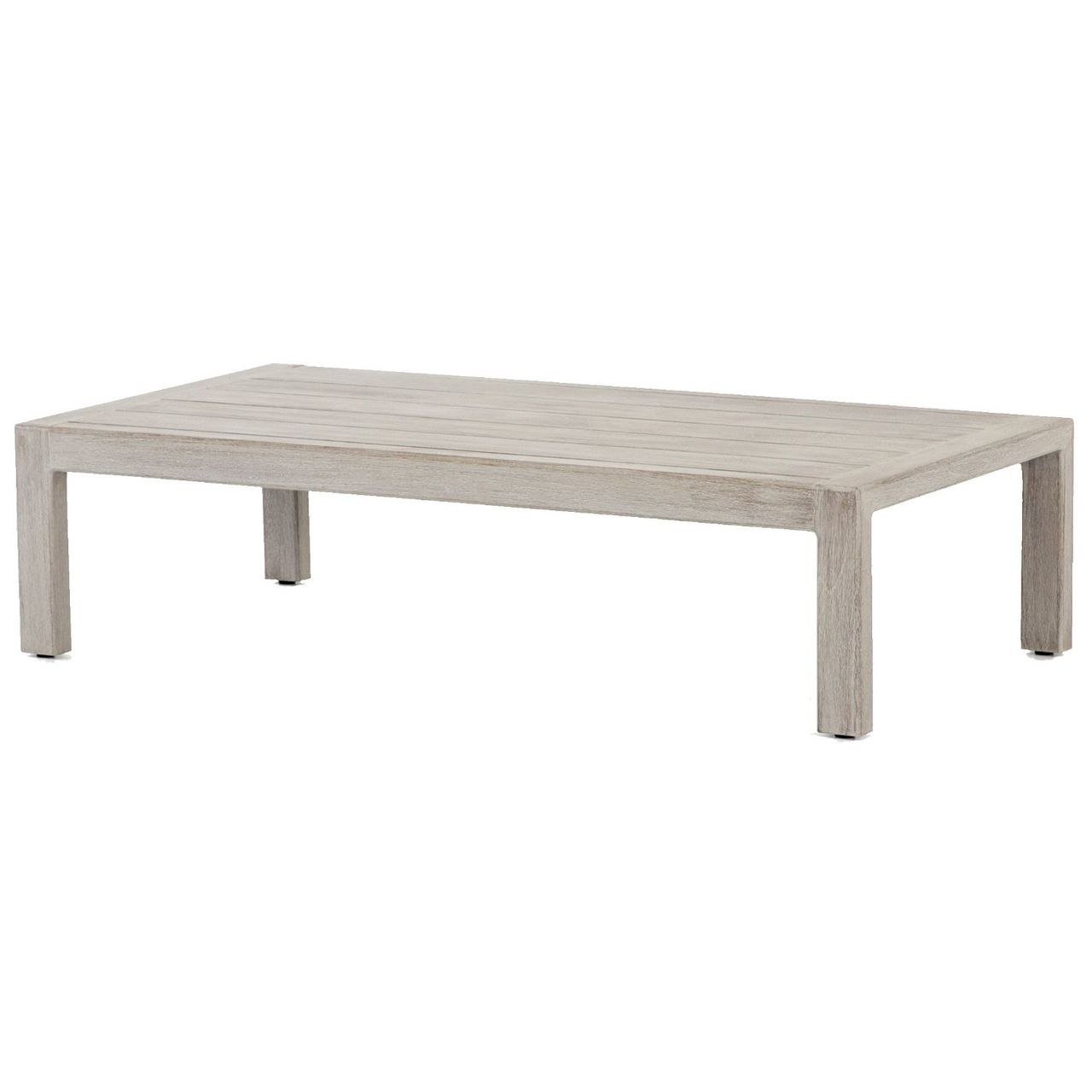 Picture of: Sonoma Grey Teak Outdoor Coffee Table 47 Zin Home Fourhands