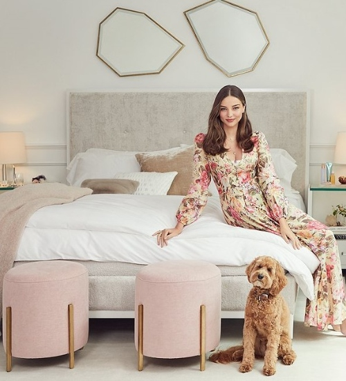 Trend Alert: Miranda Kerr Home Furniture Collection