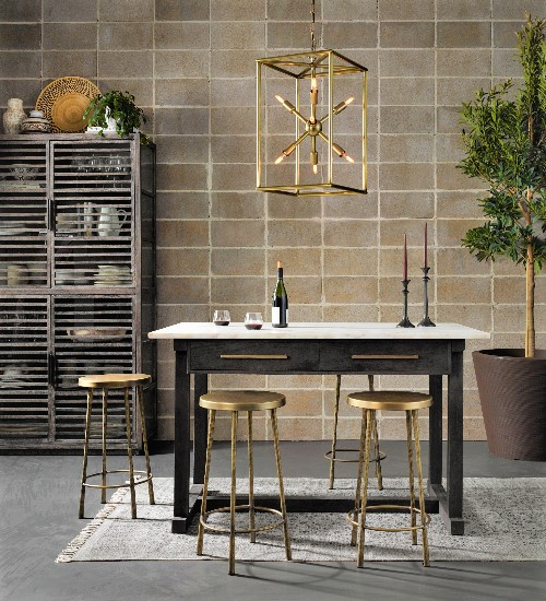 Shop The Look: Contemporary French Country Kitchen