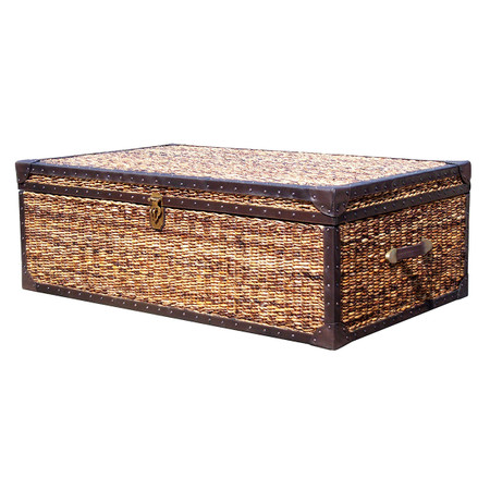 Lanai Trunk Coffee Table 50 Quot X 30 Quot Wicker Banana Leaf