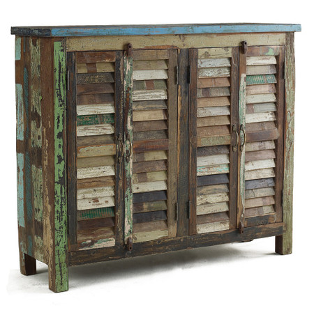 Shabby Chic Sideboard Cabinet Zin Home