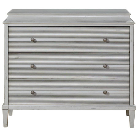 Sojourn French Country 3 Drawer Hallway Chest Gray Zin