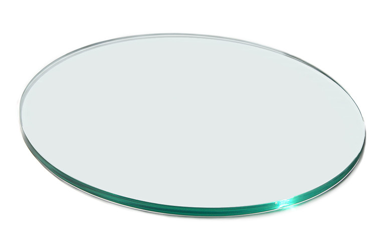 "Round 20"" Clear Acrylic Surface 20""Dia X0.4H - 1 each"