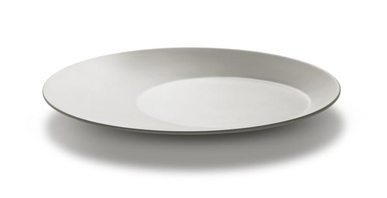 Large Round Light Grey Melamine Platter (Set of 3 pcs.), 1 SET