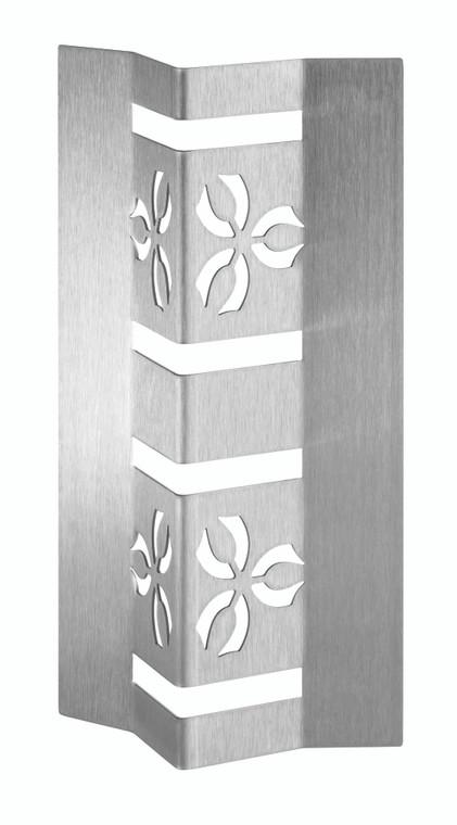 "Iris™ 12"" Stainless Steel V-Riser (Set of 2 pcs.), 1 SET (Limited Time Offer)"