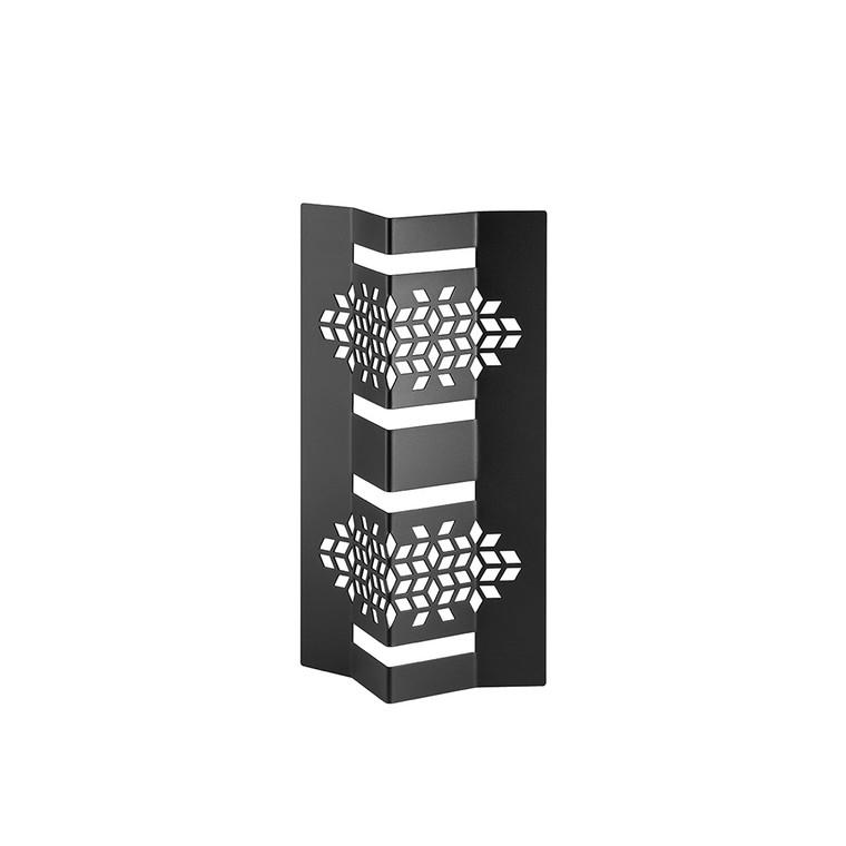 """Mosaic 12"""" Black Matte V-Riser (Set of 2 pcs.) (Limited Time Offer)"""
