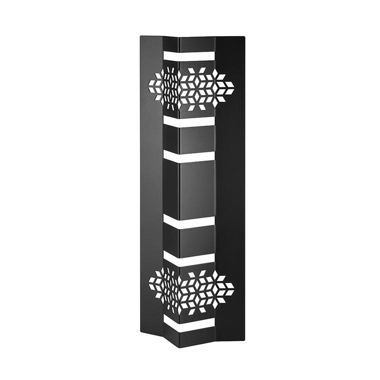 """Mosaic 18"""" Black Matte V-Riser (Set of 2 pcs.) (Limited Time Offer)"""