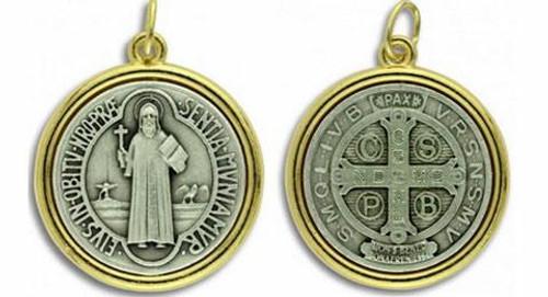 St. Benedict Medal - 2-Tone
