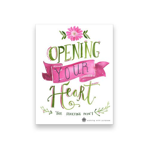Book - Opening Your Heart