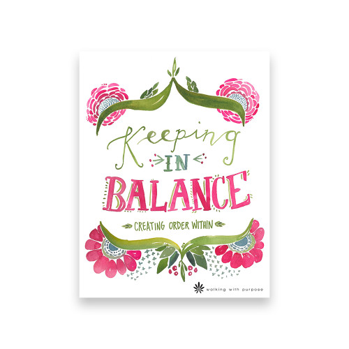 Book - Keeping in Balance