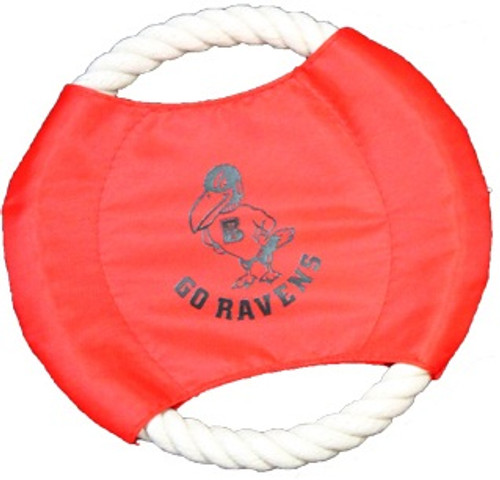 Pet - Go Ravens Rope Disc
