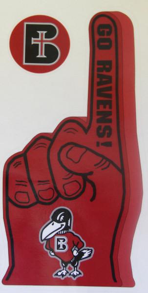 SALE - Fan Finger Decal