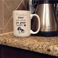 Mug - Paw Prints (personalized)