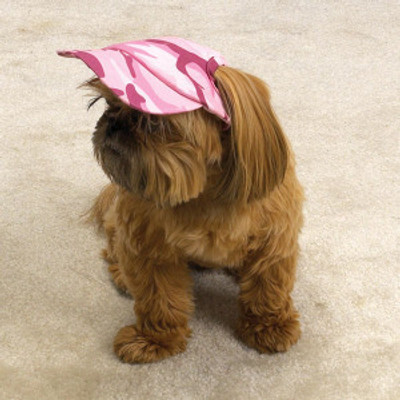 Camo Cap - Pink