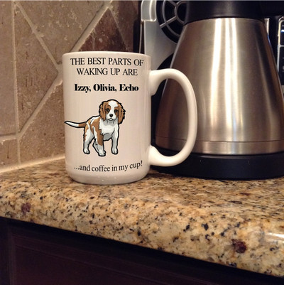 Mug - The Best Parts (personalized)