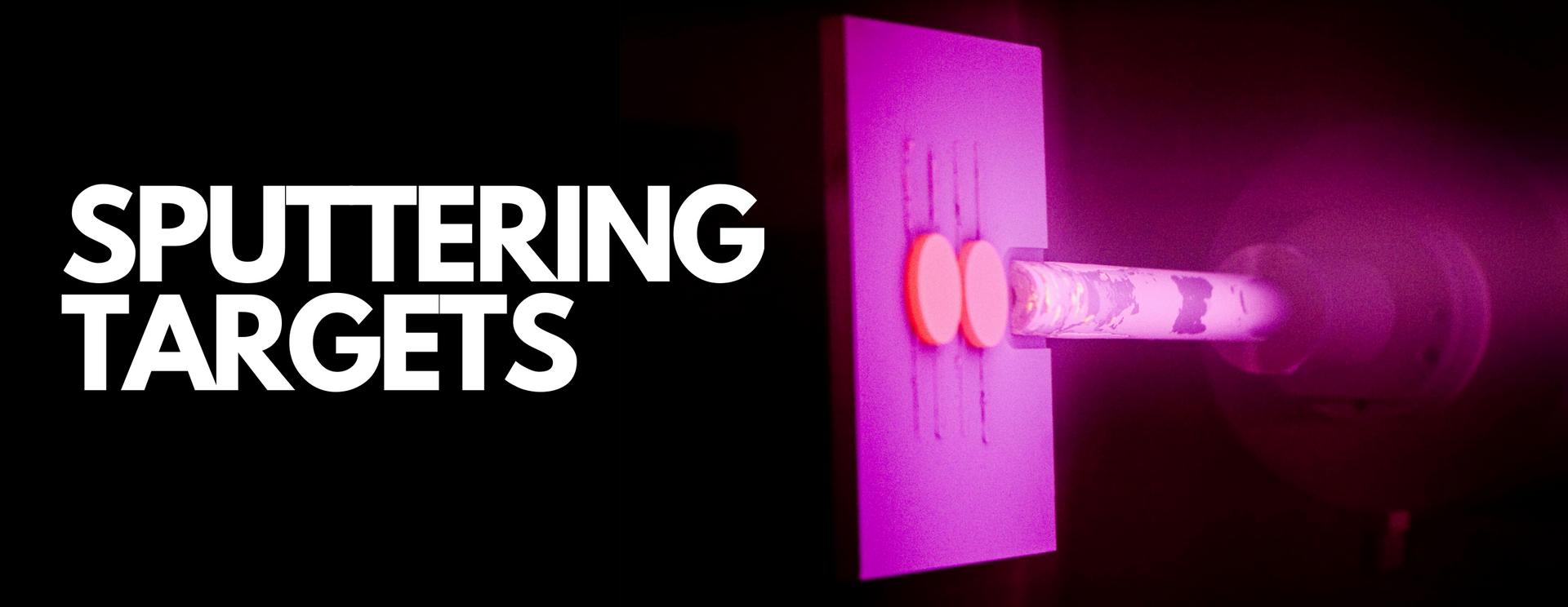 Nanografi Sputtering Targets Ürünleri