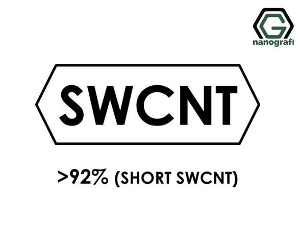 Kısa Tek Duvarlı Karbon Nanotüp, Saflık > 92%