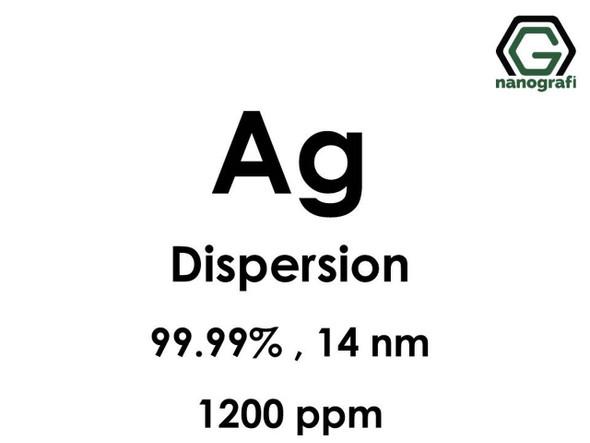 Ag(Gümüş) Nanopartikül Dispersiyon 14nm, 1200ppm