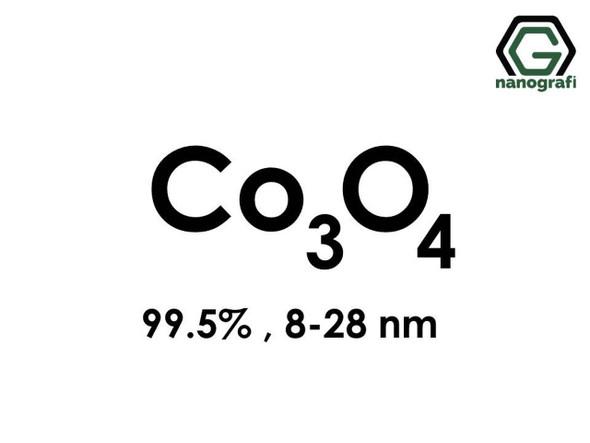 Co3O4(Kobalt Oksit) Nanopartikül, 8-28nm, Saflık 99.5%