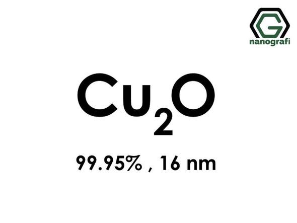 CU2O(Bakır Oksit) Nanopartikül, 16nm, Saflık 99.95%