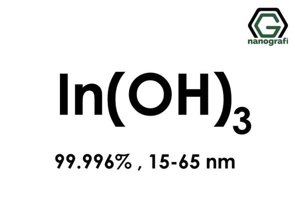 In(OH)3(İndiyum Hidroksit) Nanopartikül, 15-65nm, Yüksek Saflıkta 99.996%