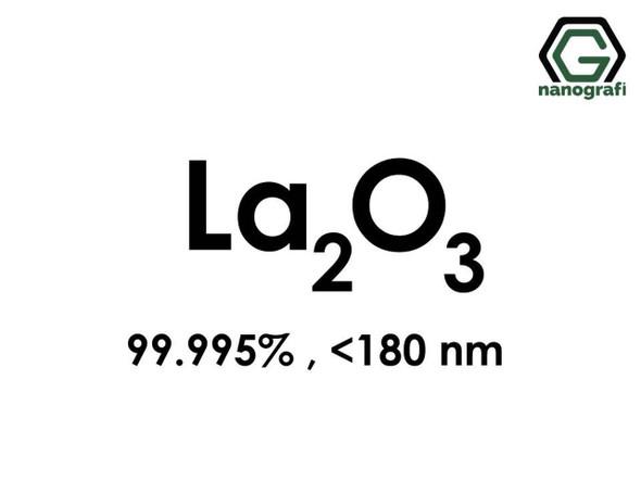 La2O3(Lantan Oksit) Nanopartikül, <180nm, Saflık 99.995%