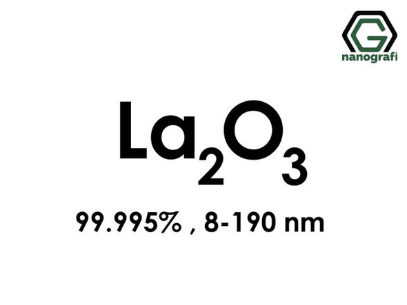 La2O3(Lantan Oksit) Nanopartikül, 8-190nm, Saflık 99.995%