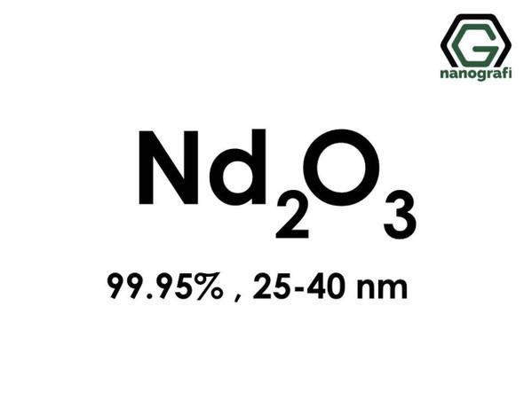 Nd2O3(Neodimyum Oksit) Nanopartikül, 25-40nm, Saflık 99.95%