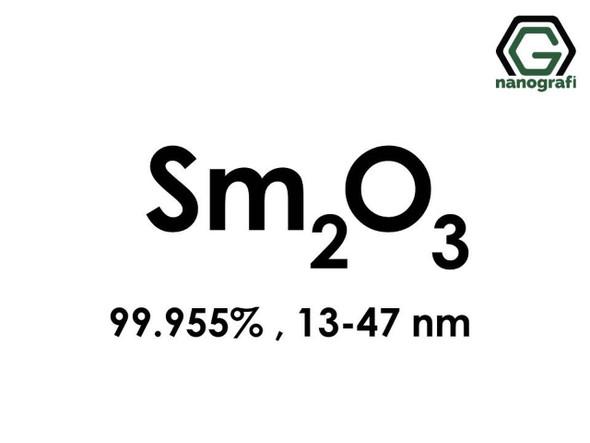 Sm2O3(Samaryum Oksit) Nanopartikül, 13-47nm, Saflık 99.955%