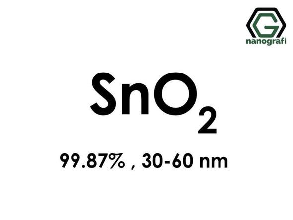 SnO2(Kalay Dioksit) Nanopartikül,, 30-60nm, Yüksek Saflıkta 99.87%