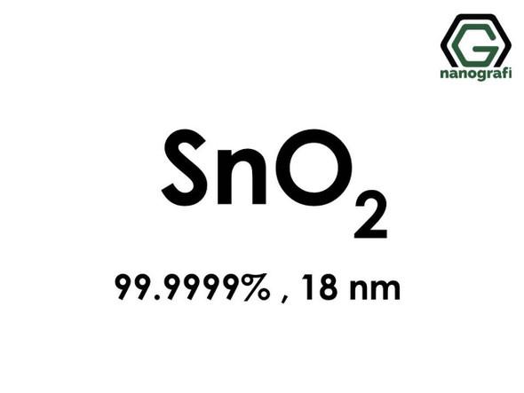 SnO2(Kalay Dioksit) Nanopartikül,, 18nm, Yüksek Saflıkta 99.9999%