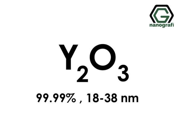 Y2O3(İtriyum Oksit) Nanopartikül, 18-38nm, Yüksek Saflıkta 99.99%