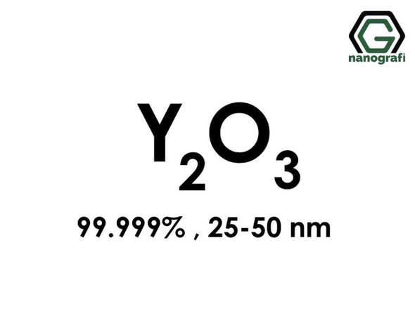 Y2O3(İtriyum Oksit) Nanopartikül, 25-50nm, Saflık 99.999%