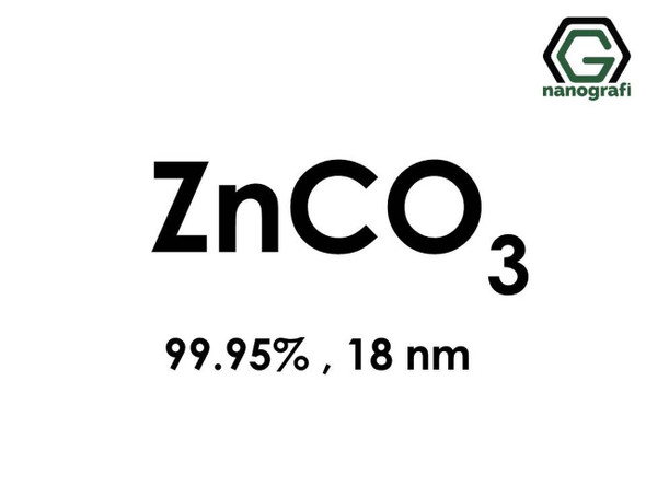 ZnCO3(Çinko Karbonat) Nanopartikül, 18nm, 99.95%