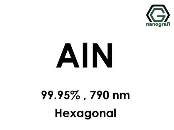 AlN(Alüminyum Nitrit) 99.95%, 790nm, Hekzagonal