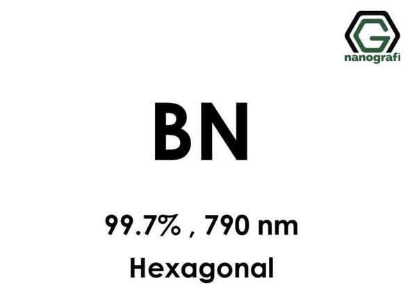 BN Nanopartikül(Bor Nitrür) 99.7%, 790nm, Hekzagonal