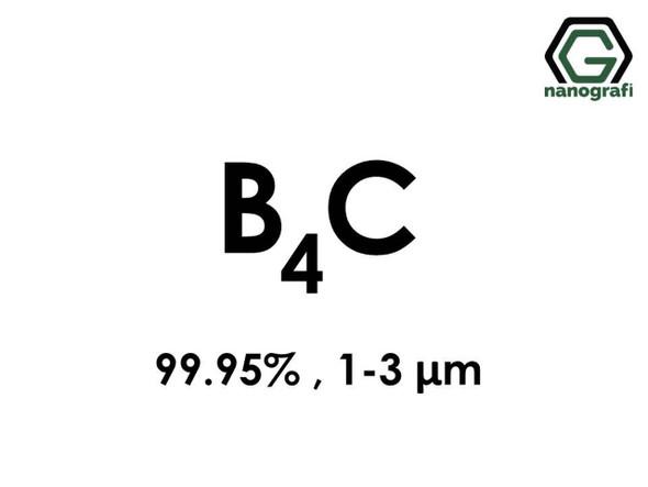 B4C(Bor Karbür) 99.95%, 1-3um