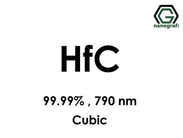 HfC(Hafniyum Karbür) Nanopartikül, 99.99%, 790nm, Kübik