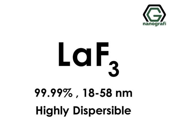 LaF3(Lantan Triflorit) Nanopartikül, highly dispersible, 18-58nm