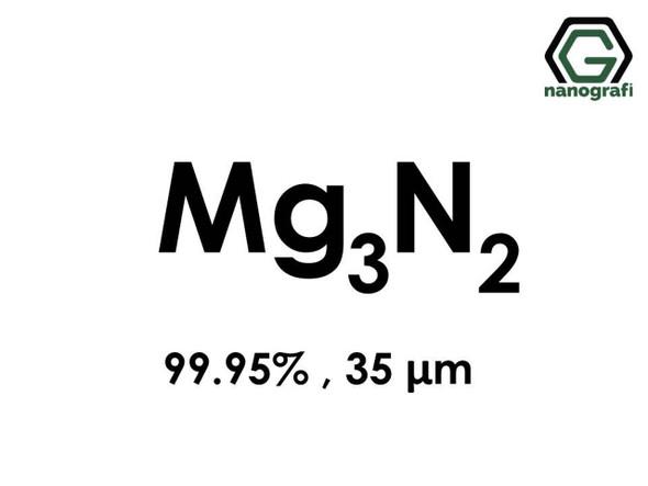 Mg3N2(Magnezyum Nitrit) Nanopartikül, 99.95%, 35um