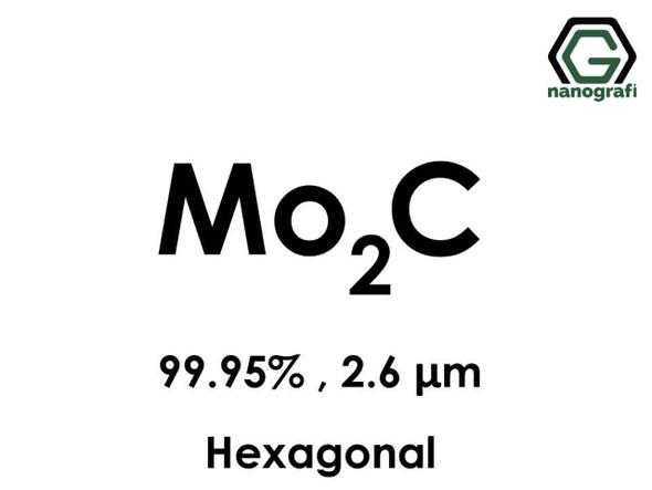 Mo2C(Molibden Karbür) 99.95%, 2.6um, Hekzagonal