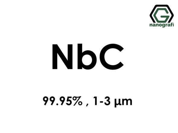 NbC(Niobiyum Karbür) 99.95%, 1-3 um