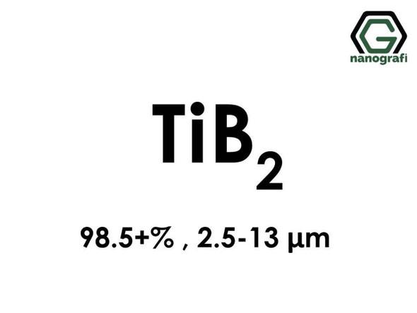 TiB2(Titanyum Diborür) 98.5+%, 2.5-13 um