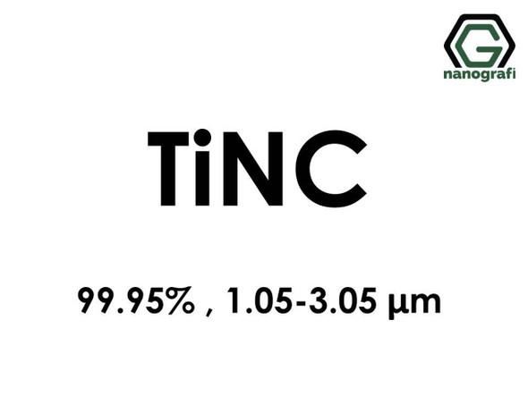 TiNC(Carbon Titanyum Nitrit) 99.95%, 1.05-3.05um